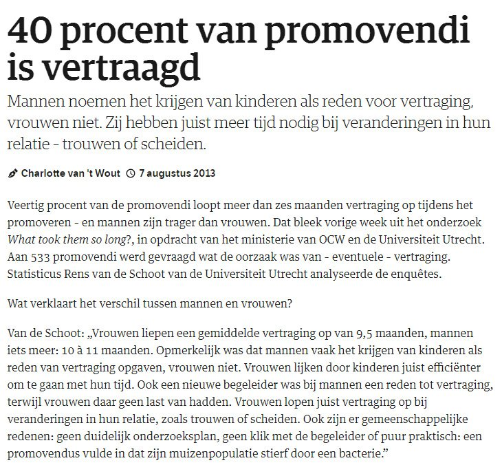 40procentpromovendi