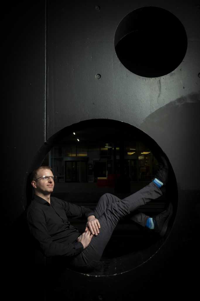 Nederland, Utrecht, 07012019 - Portret Rens van de Schoot. Foto: David van Dam